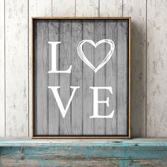 Come on in and snatch up your Free Printable Farmhouse Love Wall Art available in 2 sizes and 6 different Farmhouse Weathered Colors! It will look great on your Farmhouse Gallery Walls! Have fun!