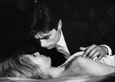 Alain Delon, Monica Vitti - L'Eclisse (Michelangelo Antonioni, 1962) Prix special du jury à Cannes