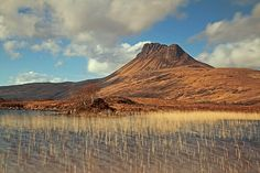 Stac Pollaidh (Stac Polly in the book) from Loch Lugainn
