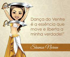 Bem vinda Shamsa Nureen! <3 #centraldancadoventre #dancadoventre #bellydance #mascote