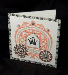 Cardmaking With Sizzix Princess Birthday Card