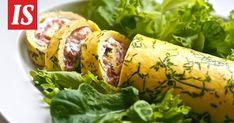 Siken munakasresepti sopii mainiosti itsenäisyyspäivän iltaan. Keto, Fresh Rolls, Sausage, Food And Drink, Chicken, Cooking, Ethnic Recipes, Book