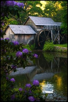 Old grist mill…