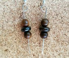 Check out this item in my Etsy shop https://www.etsy.com/listing/465573035/hammered-silver-tone-wire-earrings