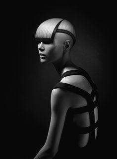 OLYMPIA SERIES by pavel okhapkin nominated for hairdresser of the year 2014 (rhda) style - oly kalafati, set-design - pasha pavlov, photography & retouching - karen kananian