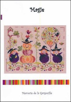 Magie - Mary Janes Cross and Stitch