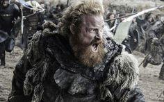 Tormund Giantsbane in Game of Thrones season 6, episode 9, Battle of the Bastards