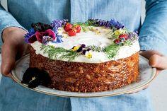 Spiced Honey Cake With Cream Cheese Frosting recipe | Epicurious.com