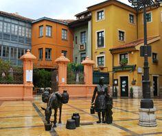 Plaza de Trascorrales, Oviedo (Asturias)   The Wandering S http://thewanderingsblog.com/oviedo/