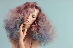 Cotton Candy Coiff Editorials - 'Elle Sleeping Beauty' by Olivia Frolich Is Eye-Catching (GALLERY)