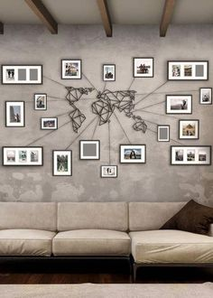 Awesome Minimalistic Metal World Map Wall art. Stands out due due to it's un… – Livingroom WOW – Living Room Ideas Decor Room, Wall Art Decor, Wall Art Bedroom, Bedroom Ideas, Photo Wall Decor, Dining Room Wall Art, Cool Wall Art, Tree Wall Decor, Metal Tree Wall Art