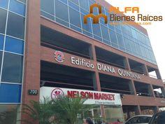 Se alquila o vende oficina 100m2 Edif Diana Quintana.  Para información ver el link:
