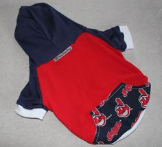 NEW Cleveland Indians Dog Hoodie by RagtheDog on Etsy