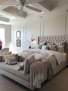 Top 7 Master Bedroom Ideas (Amazing Tips and Inspiration). What The In Crowd Won't Tell You About Modern Master Bedroom Luxury Beautiful Get inspired by these master bedroom ideas below to help you in decorating the most comfortable personal space. Modern Master Bedroom, Master Bedroom Design, Contemporary Bedroom, Home Decor Bedroom, Bedroom Ideas, Bedroom Furniture, Furniture Design, Furniture Ideas, Furniture Stores