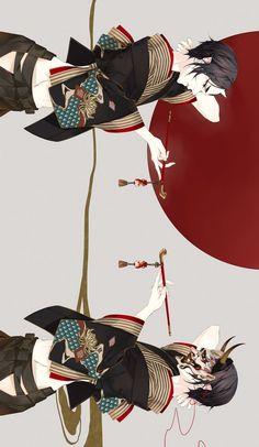 Hoozuki no Reitetsu Animes Emo, Fanarts Anime, Anime Manga, Anime Guys, Character Inspiration, Character Art, Character Design, Japanese Characters, Anime Characters