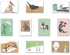 The girls of 'het paradijs' made beautliful postcards