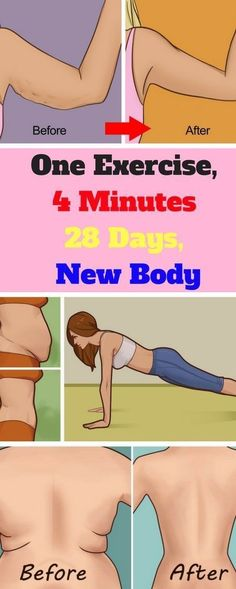 One Exercise, 4 Minutes – 28 Days, New Body   Worthy Tips and Tricks