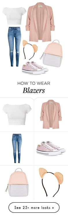 """My kind of work outfit"" by kaylakmichell-kat on Polyvore featuring H&M, Converse, River Island, Helmut Lang and Calvin Klein"