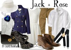Jack and Rose Outfit