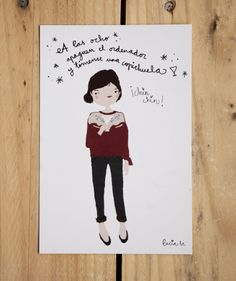 off!! http://luciabe.com/shop/postales-tarjetas/postales-de-la-semana/