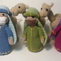 three wise men amigurumi crochet free pattern patrón gratis