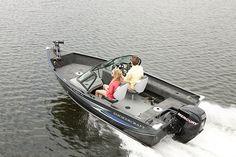 2013 Smoker Craft Pro Angler XL 162 Fishing Boat Running