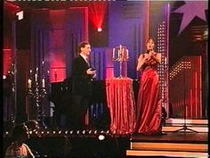 Anna Maria Kaufmann singt ein Duett mit Freddy Quinn