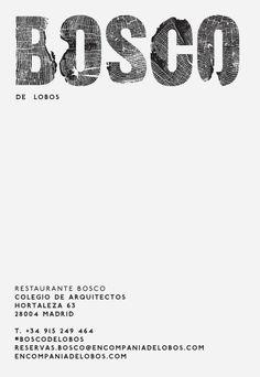 Bosco de Lobos.Madrid - restaurante reservas.bosco@encompaniadelobos.com