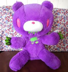 Gloomy Bear Plush Chax Purple 38CM15 2inch Horror Tone Doll Halloween Japan | eBay