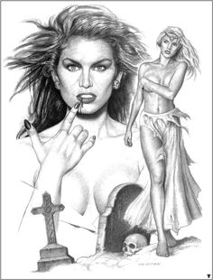 Comics Vintage, Vampire Stories, Pin Up Art, Supernatural, Creatures, Drawings, Artwork, Pictures, Painting