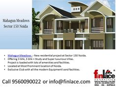Mahagun Meadows 9560090022 | Mahagun projects Noida