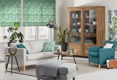#obývačka #ikea #karlstad #poťahy #inšpirácia #dekorácie Divider, Curtains, Living Room, Interior, Urban, Furniture, Home Decor, Nature, Plants