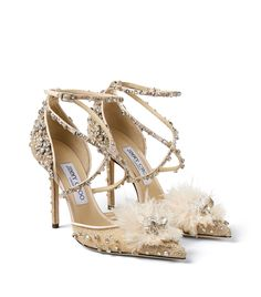 Jimmy Choo pink Leather Embellished Odette Pumps 100 #AD , #AFFILIATE, #pink, #Leather, #Jimmy, #Choo, #Pumps Dr Shoes, Shoes Heels, Latest Shoes, Jimmy Choo Shoes, Designer Boots, Pretty Shoes, Shoe Closet, Luxury Shoes, Ankle Straps