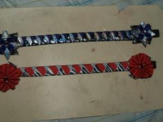 How to make a ribbon browband: Step-by-step with pictures tuturial!
