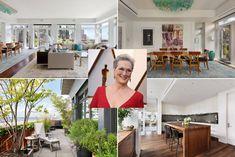 Meryl Streep's Stunning Luxury Manhattan Penthouse Apartment Manhattan Penthouse, Penthouse Apartment, Townhouse, Apartment Interior Design, Interior Decorating, Elegant Homes, Next At Home, Interior Architecture, New York City