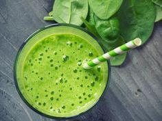 Smoothie vert kiwi épinard banane - Recette de cuisine Marmiton : une recette