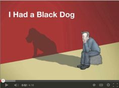"""VIDEO     What Is Depression? Let this """"Black Dog"""" shed some light on It.    If you need support, please reach out - there is an abundance of local resources to help you get through it.  To find local mental health and addiction services,  visit: www.Ottawa.ca/MentalHealthResources    Video: World Health Organization"""