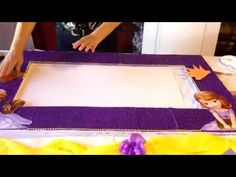 Como hacer un marco de carton. Reciclaje .How to make a cardboard frame. recycling - YouTube