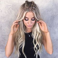 Shoulder Length Twist Braids - 50 Thrilling Twist Braid Styles To Try This Season - The Trending Hairstyle Pretty Hairstyles, Girl Hairstyles, Braided Hairstyles, Style Hairstyle, Loose French Braids, Festival Hair, Pinterest Hair, Creative Hairstyles, Hair Looks