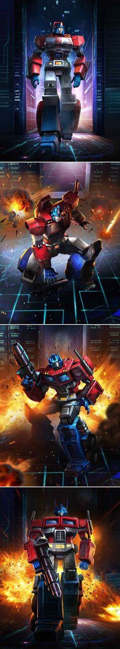 Optimus Prime by manbu1977.deviantart.com on @deviantART