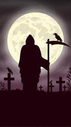 Grim Reaper Wallpapers Wallpaper what I like that is Grim Reaper Art, Don't Fear The Reaper, Grim Reaper Tattoo, Gothic Fantasy Art, Fantasy Kunst, Arte Horror, Horror Art, Grim Reaper Pictures, Dark Fantasy Art