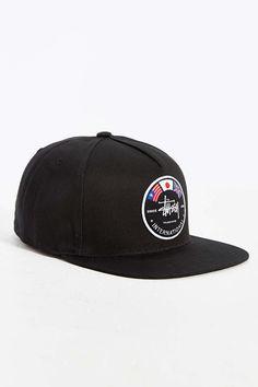 47631e40f58 Stussy International Flags Snapback Hat