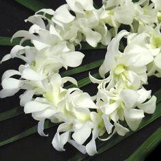 Fresh Flower Lei - Reminds me of Home... Aloha & Mahalo!!!