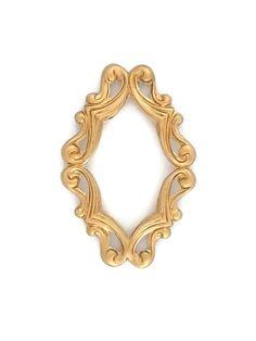 Art Deco Diamond Filigree Frame Open Raw by SteampunkSupplyStore, $2.99