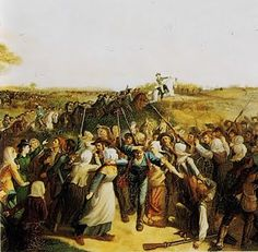 War in the Vendee.  French Revolution.