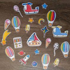 Novos adesivos ⛵️🚁🚀🌠🎈 estarão na Feira do Vinil, sábado, dia 10/06, das 8 as 18! Espero vocês lá! ❤️ E em breve na lojinha online tbm!  •  •  •  #adesivo #stickers #aquarelinhas #aquarela #aquarelle #ilustración #ilustracao #illustration #design #desenho #art #cute #lojinha #feiradovinil #arte #painting #draw #kids #criancas