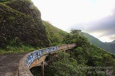 Old Pali Highway. This was an easy walk. Photos of Old Oahu | Hiking to the Best Views in Hawaii