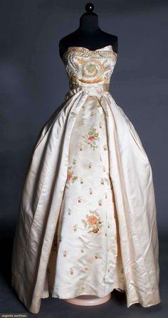 Regal Ballgown, Balmain Copy, 1958, Augusta Auctions, March 21, 2012 NYC, Lot 291