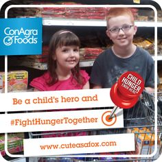 Tips for teaching your children about Hunger and how they can help. #FightHungerTogether #ad