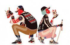 Original Streetwear Illustrations by Mau Lencinas